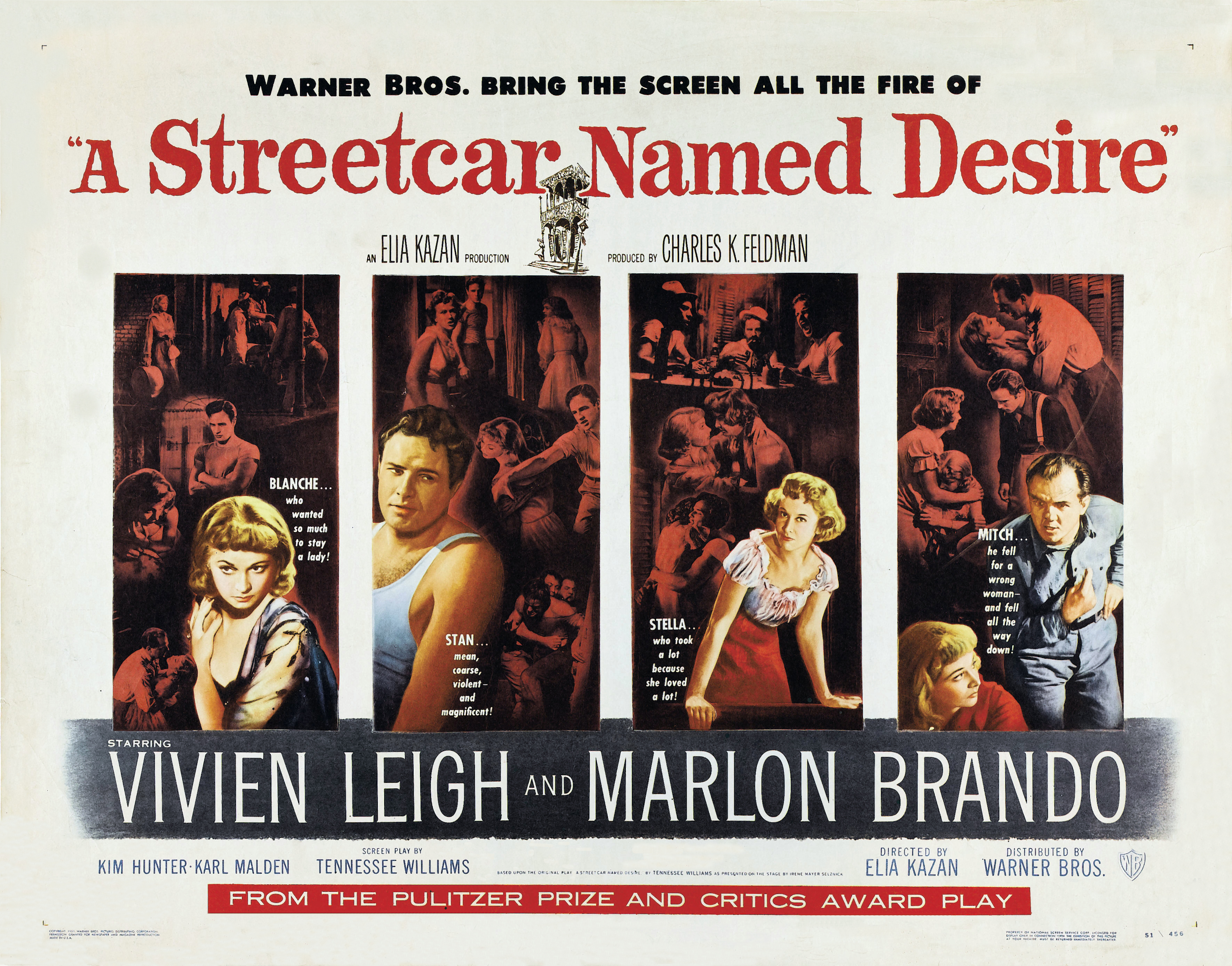 a brief review of the play a streetcar named desire