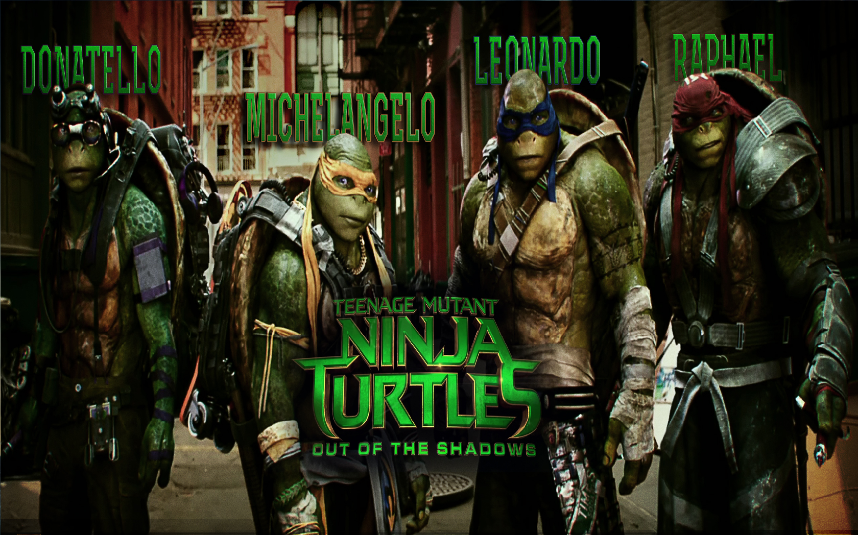 Teenage Mutant Ninja Turtles Out Of The Shadows 2016 Boy