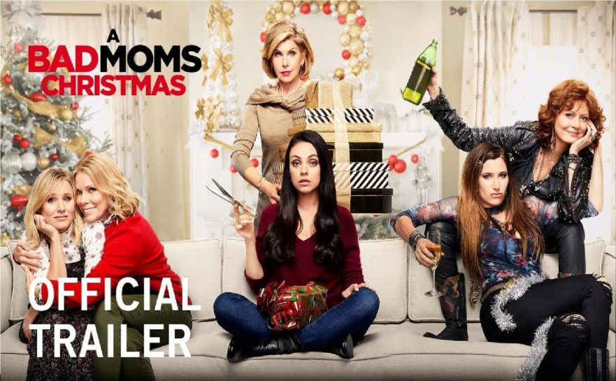 Bad Moms Christmas Kids.Review A Bad Moms Christmas 2017 Boy Meets Film